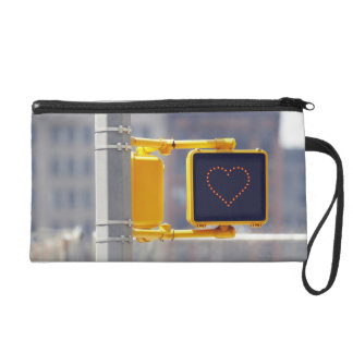 Traffic Sign Wristlet Clutches