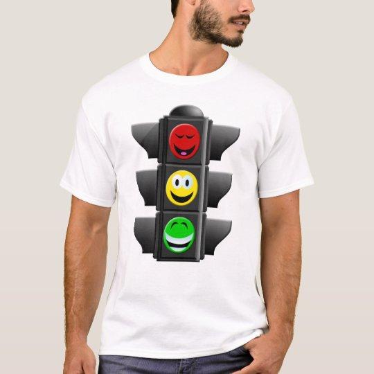 TRAFFIC SIGNAL SMILEYS T-Shirt