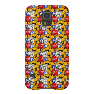 Traffic signs case for galaxy s5