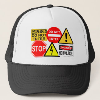 Traffic signs hat - choose color