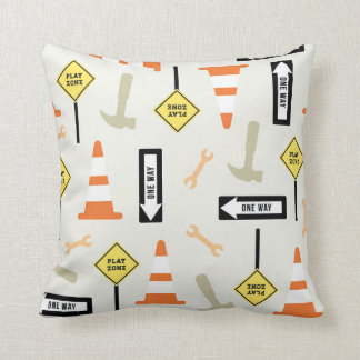 Traffic Signs Home Decor Throw Pillow