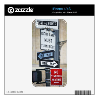 Traffic Signs Skins For The iPhone 4S