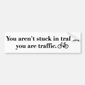 traffic sticker