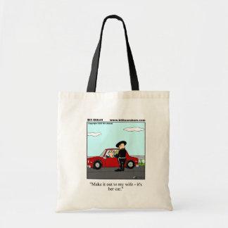 Traffic Ticket Humor Tote Bag Gift