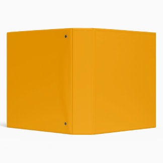 Traffic Yellow Background You Can Customize 3 Ring Binder