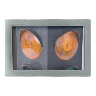TrafficLight050915 Rectangular Belt Buckle