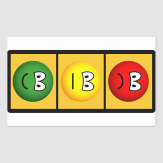 Trafficlight Happy - Neutral - Sad Sticker