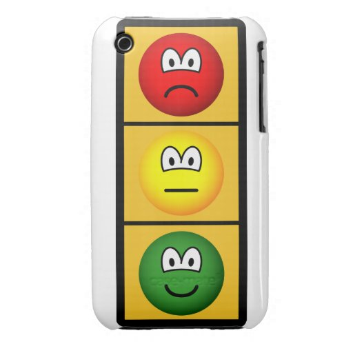 trafficlight-sadhappy.png Case-Mate iPhone 3 funda