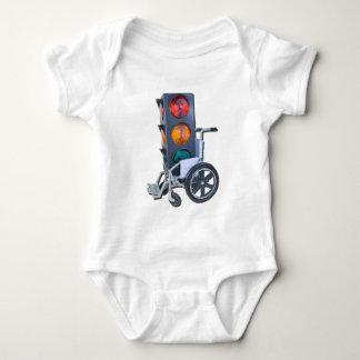 TrafficLightWheelchair052215 Baby Bodysuit