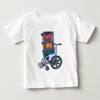 TrafficLightWheelchair052215 Baby T-Shirt