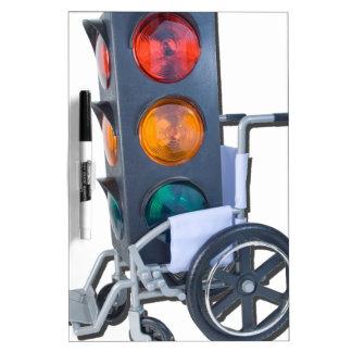 TrafficLightWheelchair052215 Dry-Erase Board
