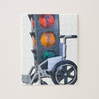TrafficLightWheelchair052215 Jigsaw Puzzle