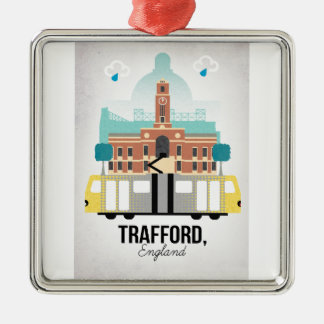 TRAFFORD, MANCHESTER METAL ORNAMENT