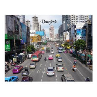 tráfico Bangkok Postales