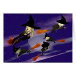 Tráfico de la bruja de Halloween