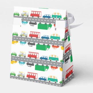 Tráfico de la hora punta caja para regalos de fiestas