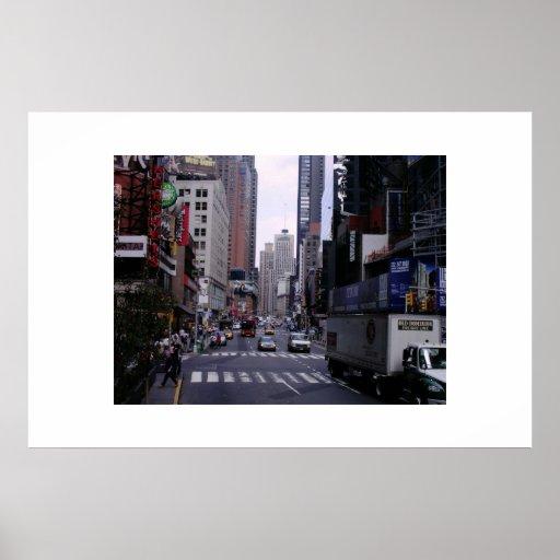 Tráfico de New York City Posters