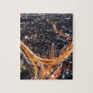 Tráfico de Tokio Puzzle Con Fotos