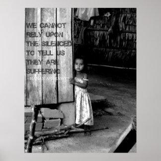 Tráfico del ser humano: Silenciado Póster
