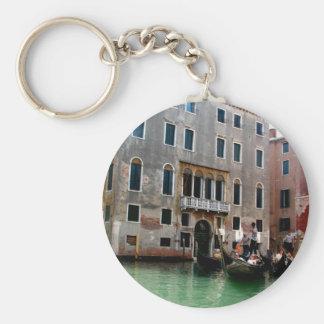 Tráfico veneciano llavero redondo tipo pin