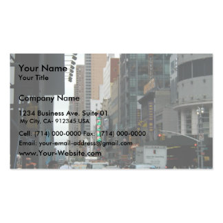 Trafique la 42.a y 7ma avenida tarjeta personal