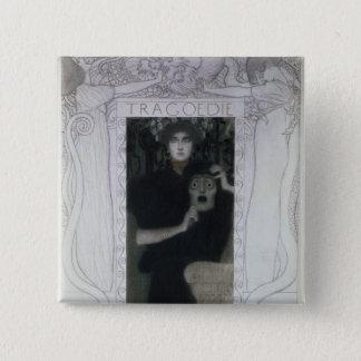 Tragedy, 1897 pinback button