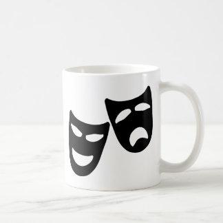 Tragedy and Comedy Masks Coffee Mug