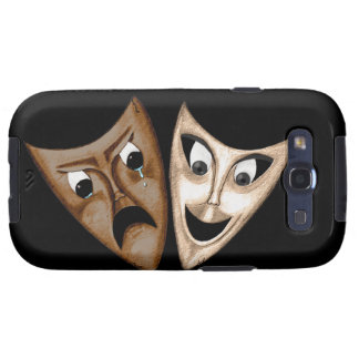 Tragedy Comedy Galaxy S3 Cover