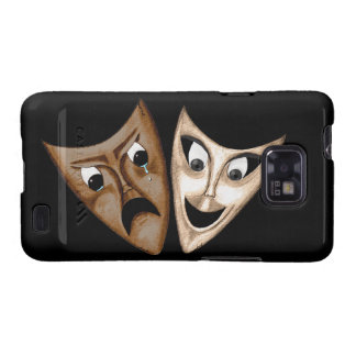 Tragedy Comedy Samsung Galaxy S Covers