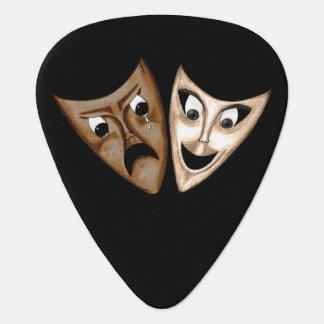 Tragedy & Comedy Guitar Pick