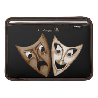 Tragedy & Comedy Sleeve For MacBook Air