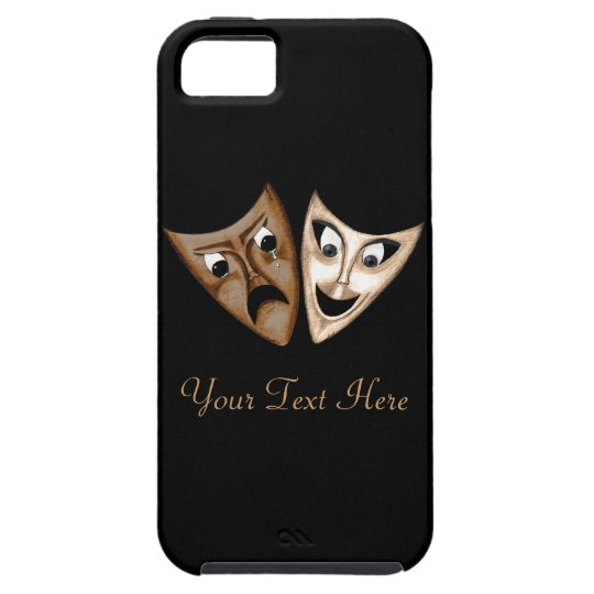 Tragedy & Comedy iPhone SE/5/5s Case