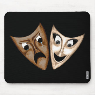 Tragedy & Comedy Mouse Pad