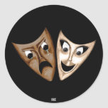 Tragedy & Comedy Stickers