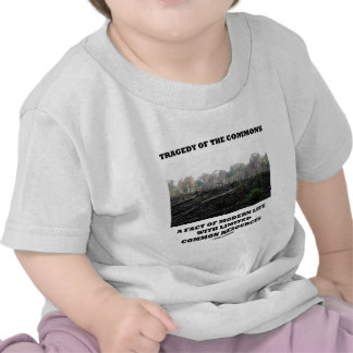Tragedy Of The Commons A Fact Of Modern Life Shirts