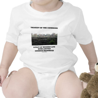 Tragedy Of The Commons A Fact Of Modern Life T Shirt
