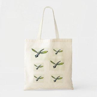 Tragetasche con libélulas bolsa tela barata
