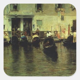 Traghetto della Maddalena, 1887 Sticker