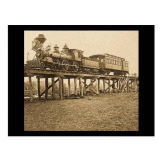 Tragic Accident at Farmington River Postcard