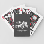 Tragic Royalty Playing Cards