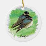 Trago de granero anticuado del personalizado, pája adorno para reyes