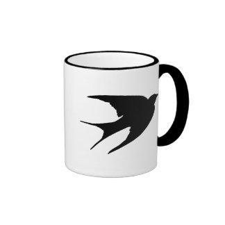 Trago de granero taza de café