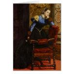 Trago de Juan Everett Millais-, trago Tarjeta