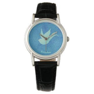 Trago de la libertad relojes de pulsera
