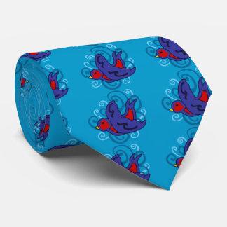 Trago de Swirly Corbatas Personalizadas