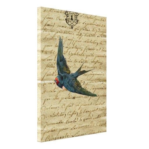Trago elegante francés del vuelo de la impresión d lona envuelta para galerías