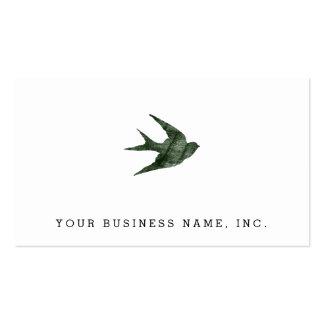 Trago (estilo de la prensa de copiar) tarjetas de negocios