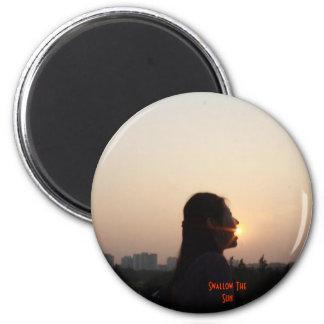 Trago The Sun Imán Redondo 5 Cm