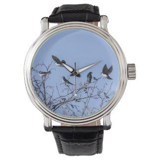 Tragos de árbol reloj de mano