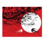 Tragos de Oriental en postal del claro de luna